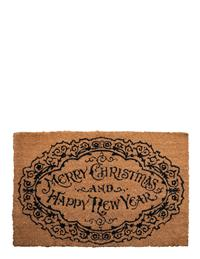 Merry Christmas & Happy New Year Threshold Mat