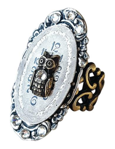 Hoo Has The Time Ring
