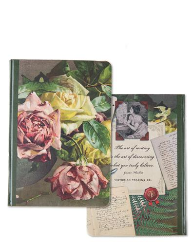 The Art Of Writing Roses Journal