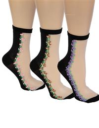 English Garden Socks (Set Of 3)
