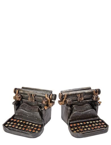 Hemmingway Typewriter Bookends