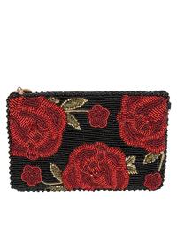 Mary Frances Spanish Rose Purse