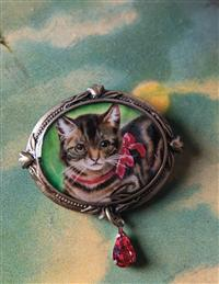 Holiday Cat Pin
