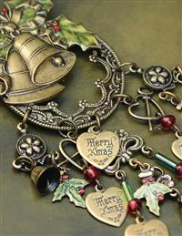 Christmas Bells Are Ringing Brooch