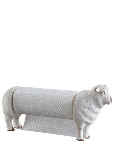 Vintage Sheep Towel Holder