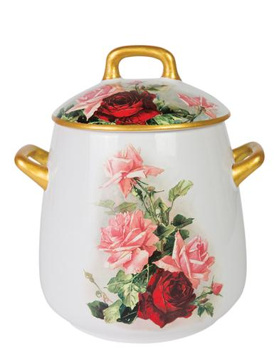 English Rose Cookie Jar