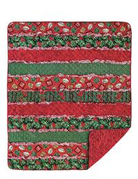 Sleigh Ride Rag Throw