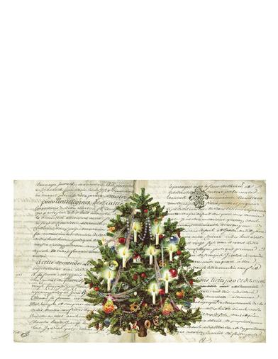 Oh Christmas Tree Placemats (Set Of 24)