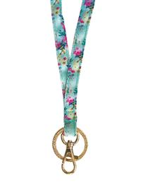 Lexington Floral Lanyard