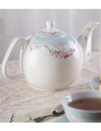 French Garland Teapot