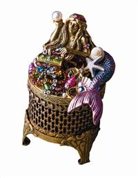 Mermaid's Trove Trinket Box
