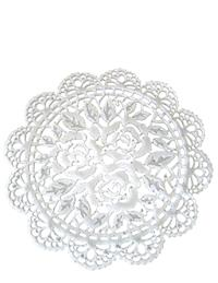 Floral Lace Sugar Doilies (Set Of 8)