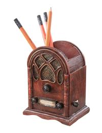 Cathedral Radio Pencil Cup