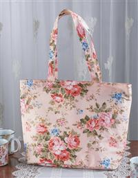 Rosy Posy Lunch Tote