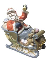 Christmas Eve Sleigh Music Box