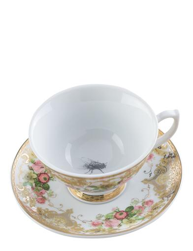 Fly In My Teacup And Saucer
