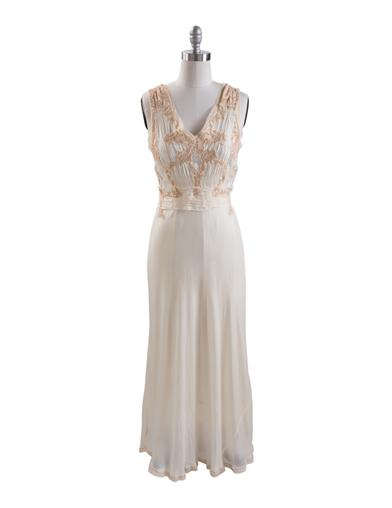 1930s Evening Dresses | Old Hollywood Dress April Cornell Cordelia Evening Gown Extra Extra La $219.95 AT vintagedancer.com