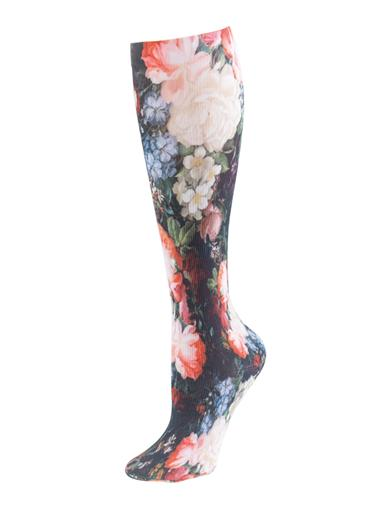 Baroque Bouquet Compression Socks