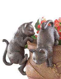 Kitten Pot Sitters (Set Of 2)