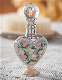 Heart Amour Des Roses Perfume Bottle