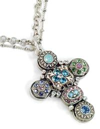Etheria Cross Necklace