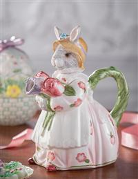 Rosy Rabbit Teapot