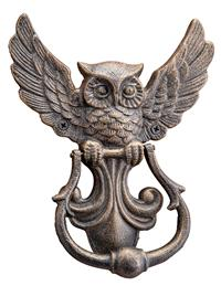 Arts & Crafts Owl Door Knocker