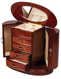 Heloise Walnut Jewelry Box