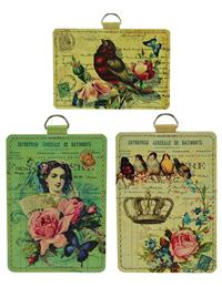 Ephemera Luggage Tags (Set Of 3)