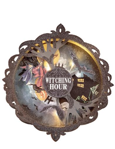 The Witching Hour Crazy Clock