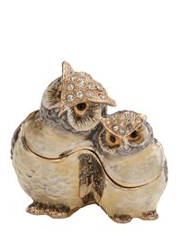 Cozy Owls Trinket Box