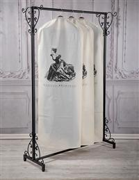 Gibson Girl Garment Bags (Set Of 3)