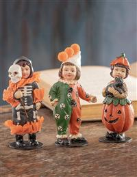 Tricker-or-treaters (Set Of 3)
