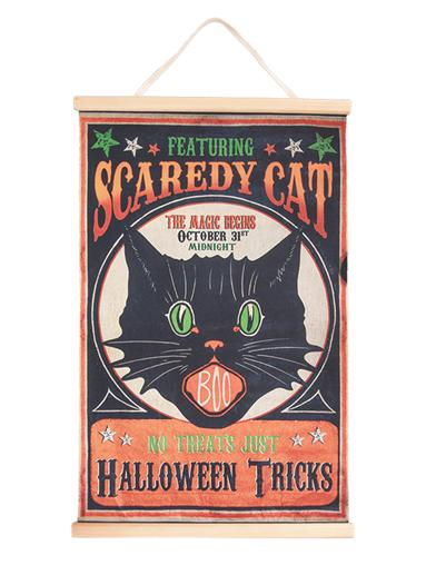 Scaredy Cat Banner