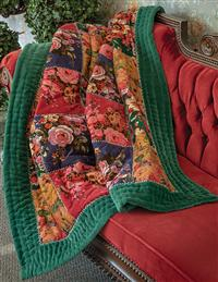 Velvet Rose Throw