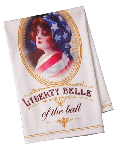 Liberty Belle Tea Towel