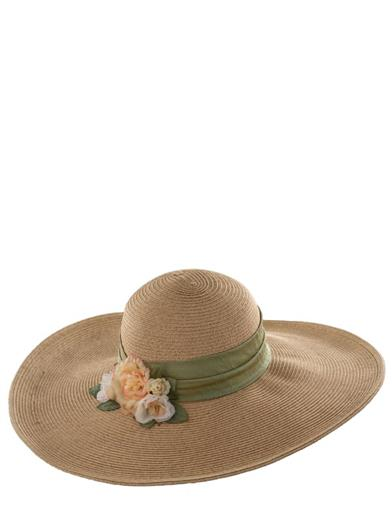 Titanic Hats History – Edwardian Ladies Hats Carole Amper Nantucket Sunhat $69.95 AT vintagedancer.com