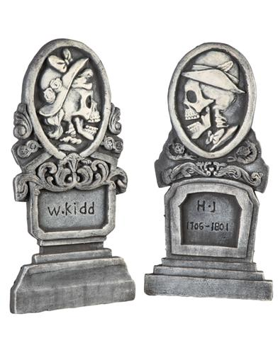Doomed Bride & Groom Tomb Markers