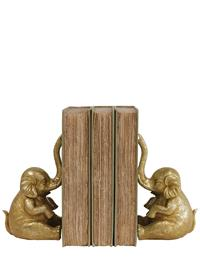 Imperial Elephant Bookends