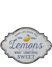 When Life Gives You Lemons Plaque