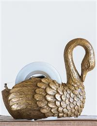 Gilded Swan Tape Dispenser