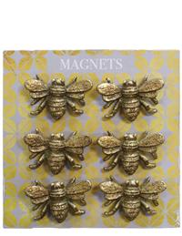 Honey Bee Magnets (Set Of 6)