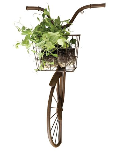 Bicycle & Basket Wall Decor