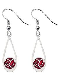 Mackintosh Rose Earrings