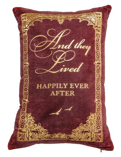 Once Upon A Time Velvet Pillow