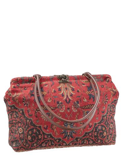 Victorian Purses, Bags, Handbags Jacquard Tapestry Tote $99.95 AT vintagedancer.com