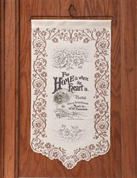 Vintage Sheet Music Wall Hanging