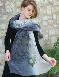 Dawn To Dusk Damask Shawl