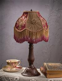 Petite Neoclassic Embroidered Shade