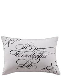 It's A Wonderful Life Pillow